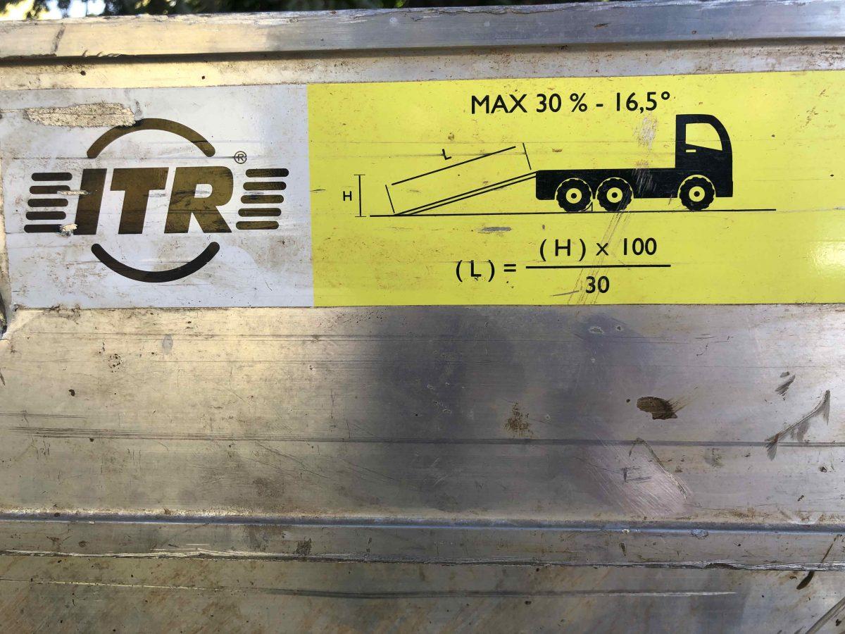 Aluminium Ramp L4000